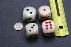 Onyx 3/4 in. Dice. $2.50 ea