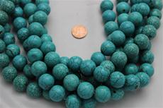 "Beads,  Magnesite 16"" long strand/ 18mm diameter 1 strand"