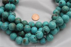 "Beads,  Magnesite 15"" long strand/17.5 mm diameter 1 strand"