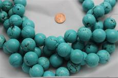"Beads,  Magnesite 16"" long strand/21.5 mm diameter 1 strand"