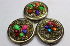 Fancy Jeweled Compact