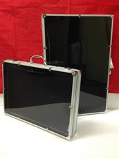 #1 ALUMINUM LOCKING DISPLAY CASE