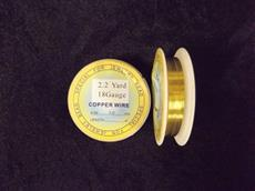18 GAUGE ROUND GOLD PLATE WIRE