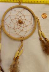 Dreamcatcher,  4 Inch Yellow