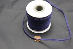 #1020 Velour neck cord 100 ft spool 3.5mm wide 1.5 mm think $9.99 ea