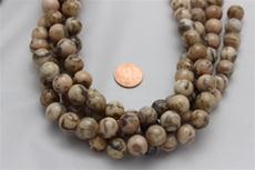 "Feldspar beads.round 12.6 mm diameter 15 1/2"" long strands. 1 strand for $5.99"