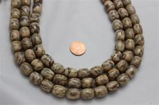 Feldspar beads.round 12.5 mm diameter.15mm height 15 1/2 long strand 1 strand for $7.99