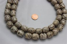 "Feldspar beads.round 16 mm diameter.18.7mm height 15 1/2"" long strand 1 strand for $7.99"