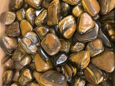 11/LB BAG TUMBLED POLISHED TIGER EYE