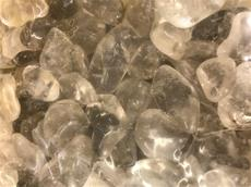 4.4/LB GRADE A TUMBLED POLISHED SMOKEY QUARTZ