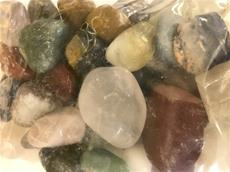 4.4/LB GRADE A TUMBLED POLISHED MIXED STONES