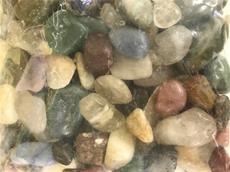 4.4/LB GRADE A TUMBLED POLISHED MIX STONES